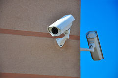 Security cameras Stock Photos