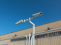 Security cameras Royalty Free Stock Photo