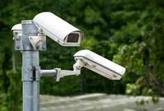 Security Cameras Group Stock Images