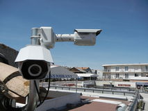 Security cameras Royalty Free Stock Photos