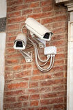 Security cameras for the safety Stock Images