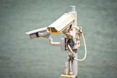 Security cameras Stock Images
