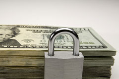 Security of Cash Royalty Free Stock Photo