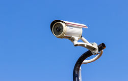 Security CCTV camera. Stock Photos