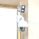 Security CCTV camera. Royalty Free Stock Photo