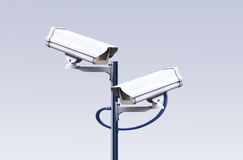 Security CCTV camera Stock Photos