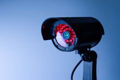 Security CCTV camera in office building Royalty Free Stock Photography