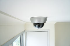 Security CCTV camera in office building Stock Photography
