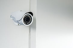 Security CCTV camera Stock Image