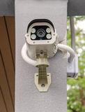 Security CCTV camera and urban video Stock Photo