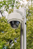 Security CCTV camera and urban video Stock Image