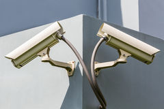 Security or cctv camera. Royalty Free Stock Photography