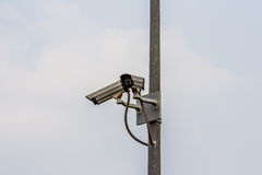 Security cctv cameras. Close circuit security  cctv cameras Stock Photo