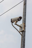 Security cctv cameras. Close circuit security  cctv cameras Royalty Free Stock Photos