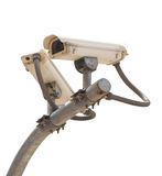 Security cctv cameras. Isolate  background Stock Photography