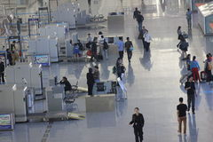 The security check gate Stock Photography