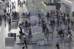The security check gate Stock Images