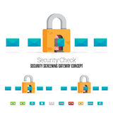 Security Check Stock Photography