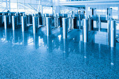 Security checkpoint Royalty Free Stock Photo