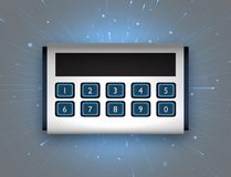 Security Code Box Stock Photography