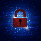 Security Code Combinations Royalty Free Stock Photography