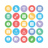 Security Colored Vector Icons 2 Royalty Free Stock Photo