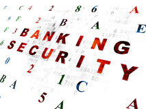 Security concept: Banking Security on Digital Stock Image