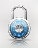 Security Concept with Combination Padlock Royalty Free Stock Photo