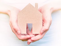 Security concept, home insurance Stock Images