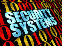 Security concept: Security Systems on Digital Royalty Free Stock Photography