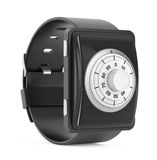 Security Concept. Smartwatch with Code Lock. 3d Rendering Stock Images