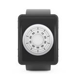 Security Concept. Smartwatch with Code Lock. 3d Rendering Stock Image