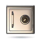 Metal Safe Icon Royalty Free Stock Image