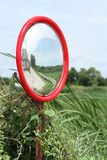 Security convex mirror Royalty Free Stock Photography