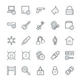 Security Cool Vector Icons 4 Royalty Free Stock Photography