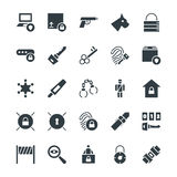 Security Cool Vector Icons 4 Royalty Free Stock Image