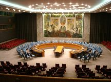 Security Council chambers Stock Photo