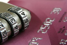 Security and credit card Stock Photography