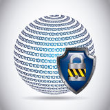 Security data Stock Photography