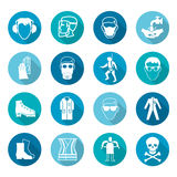 Security design icons Royalty Free Stock Photography