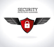 Security design Royalty Free Stock Image