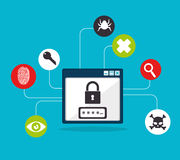 Security design Royalty Free Stock Photography