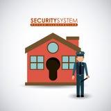 Security design, vector illustration. Stock Photo