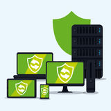 Security design, vector illustration, Stock Photo