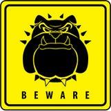 Security dog. Illustrator desain .eps 10 Stock Image