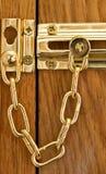 Security Door Chain Royalty Free Stock Photo
