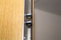 Security door lock Stock Image