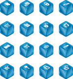 Security and E-Commerce Cube I Stock Photo