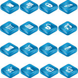 Security and E-Commerce Icon S Stock Images