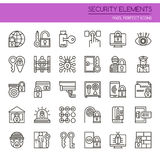 Security Elements Royalty Free Stock Images